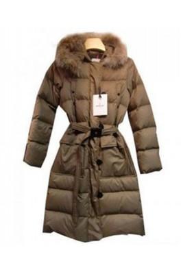 Moncler Messina Euramerican Style Womens Down Coats Apricot