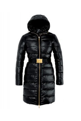 Moncler Nantes Classic Hot Sell Women Coat Zip Hooded Black