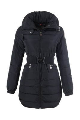 2016 Moncler Coats On Sale For Womens Outlet Black