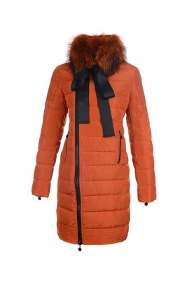 Moncler S Mayuko Women Coat Hot Sell Orange