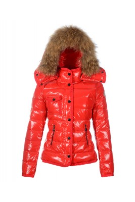 Moncler Armoise Hot Sell Down Jackets For Women Red