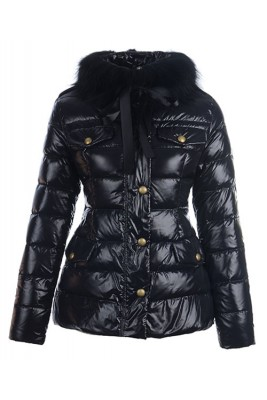 Moncler Cachalot Designer Jackets Down Women Short Black