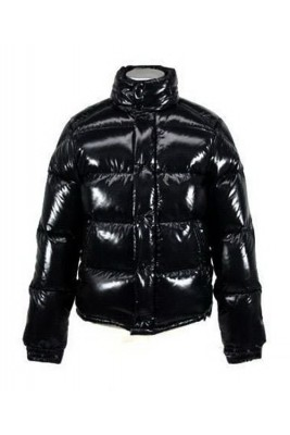 Moncler Ever Down Jackets For Womens Round Neck Black