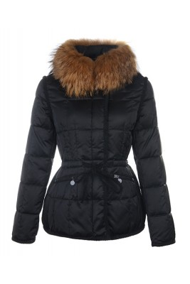 Moncler Fashion Women Jacket Down Short Black