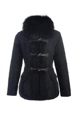 Moncler Grillon Fashion Jackets Women Down Black