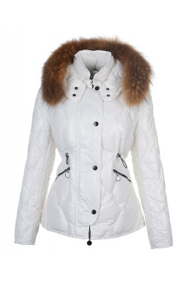 Moncler Lontre Fashion For Women Down Jacket White