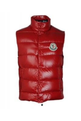 Moncler Clairy Fashion Women Sleeveless Vest Down Red