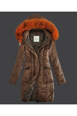 2016 Moncler Fashion Womens Down Coats Windproof Light Cof