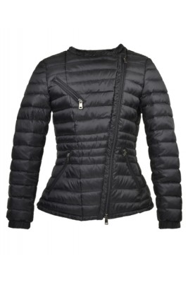 2016 Moncler Adis Down Jackets For Women Zip Black