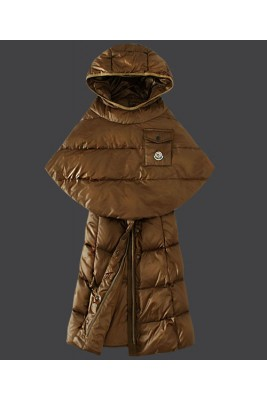 2016 Moncler Featured Down Coats Womens Hooded Coffee