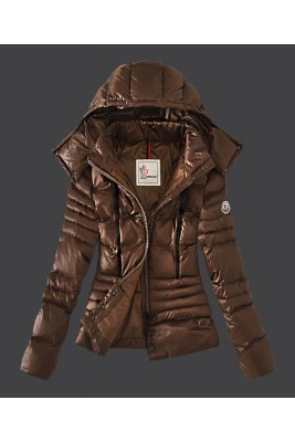 2016 Moncler Featured Jacket Down For Womens Coffee