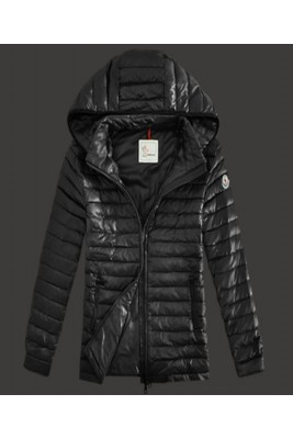 2016 Moncler Lionel Mens Down Jackets Zip Hooded Black