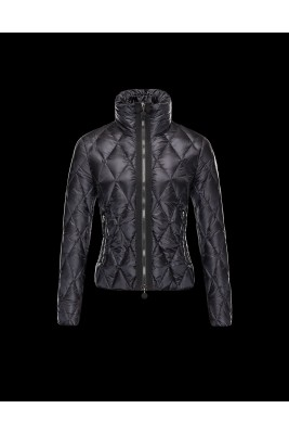 2016 Moncler Sanglante Eider Down Jacket Women Black