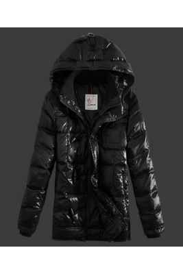 2016 Moncler Virgile Mens Down Jackets Hooded Black