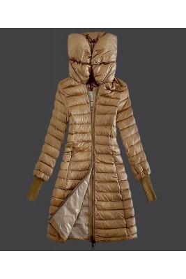 2016 Moncler Women Coat High Stand Collar Windproof Light
