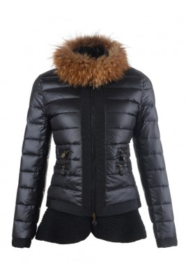 2016 Fashion Moncler Jackets Womens Outlet Black