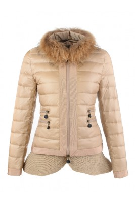 2016 Fashion Moncler Jackets Womens Outlet Golden