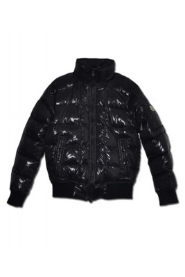 Moncler Auburn Quilted Down Jackets Mens Winter Collar Black