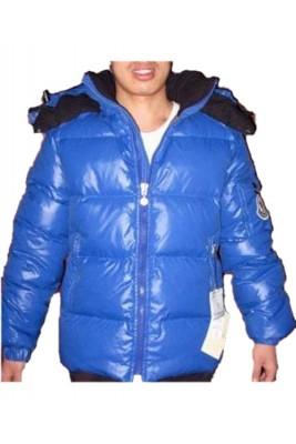 Moncler Himalaya Cheap For Mens Down Jackets Blue