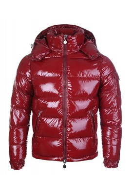 Moncler Himalaya Cheap For Mens Down Jackets Dark Red