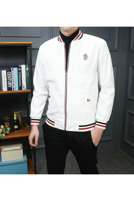 2018 Moncler Jackets For Men 162550 Black White
