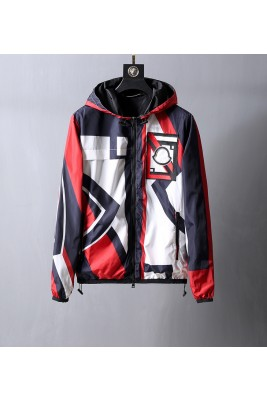 2018 Moncler Jackets For Men 162742 White red