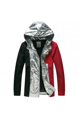 2018 Moncler Jackets For Men 162824 Silver Black Red