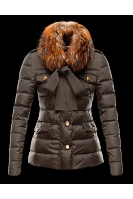 2018 Moncler Coats For Women 162918 Brown
