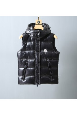 2018 Moncler Vests For Women 162919 Black
