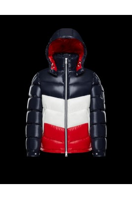 2018 Moncler Jackets For Men 162933 Red Blue