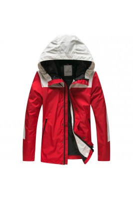 2018 Moncler Jackets For Men 162953 Red Black