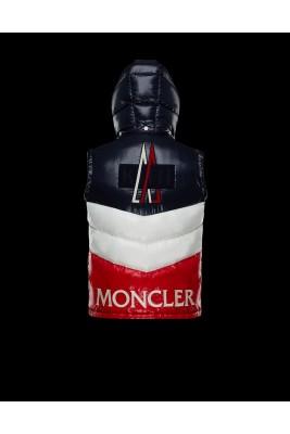 2018 Moncler Vests For Men 163019 Blue Red
