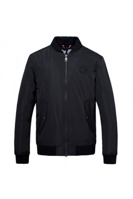 2018 Moncler Jackets For Men 163027 Black Red Yellow