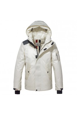 2018 Moncler Jackets For Men 163040 Black White