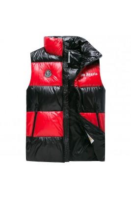 2018 Moncler Vests For Men 163055 Black Red