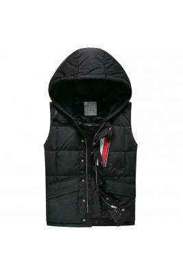 2018 Moncler Vests For Men 163133 Black