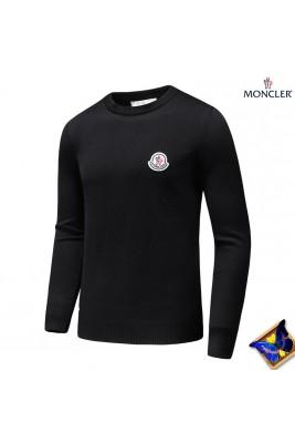 2018 Moncler Sweater For Men 163138 Black Gray
